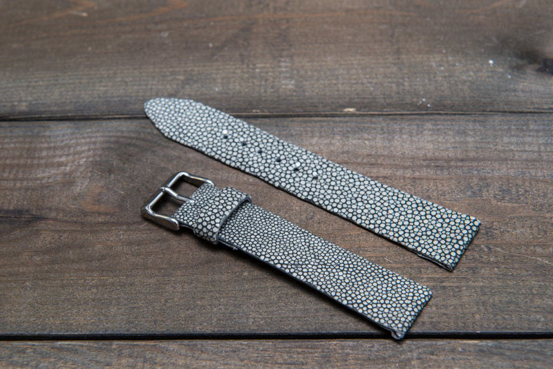 Stingray leather watch strap