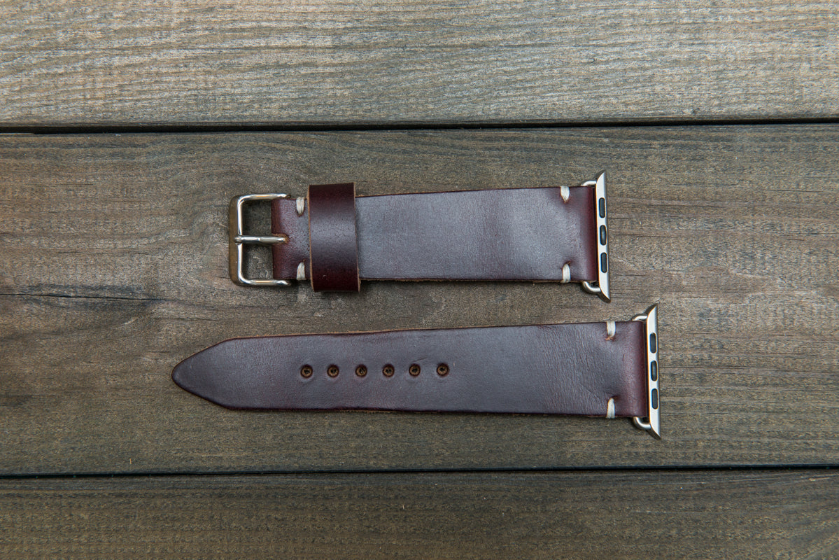 Horween leather Apple Watch band 38mm, 42mm