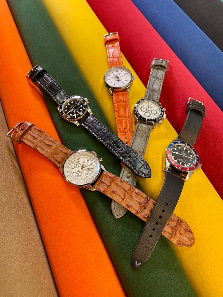 Alcantara Suede-like MicroFiber lining for your watch strap