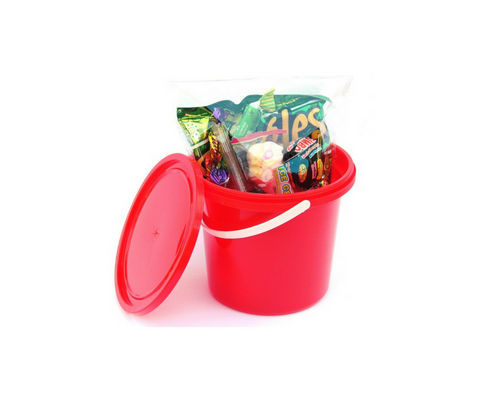 Party Bucket - Red - R17.00