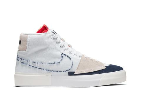 "Nike SB "" Hack Pack "" Blazer Mid White Navy"