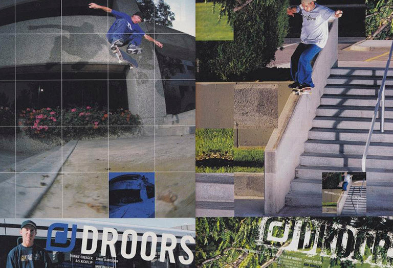 Droors clothing Ronnie Creager and Rob Gonzalez