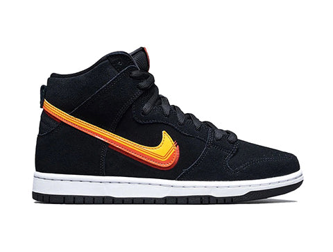 Nike SB Dunk high Black, truck it