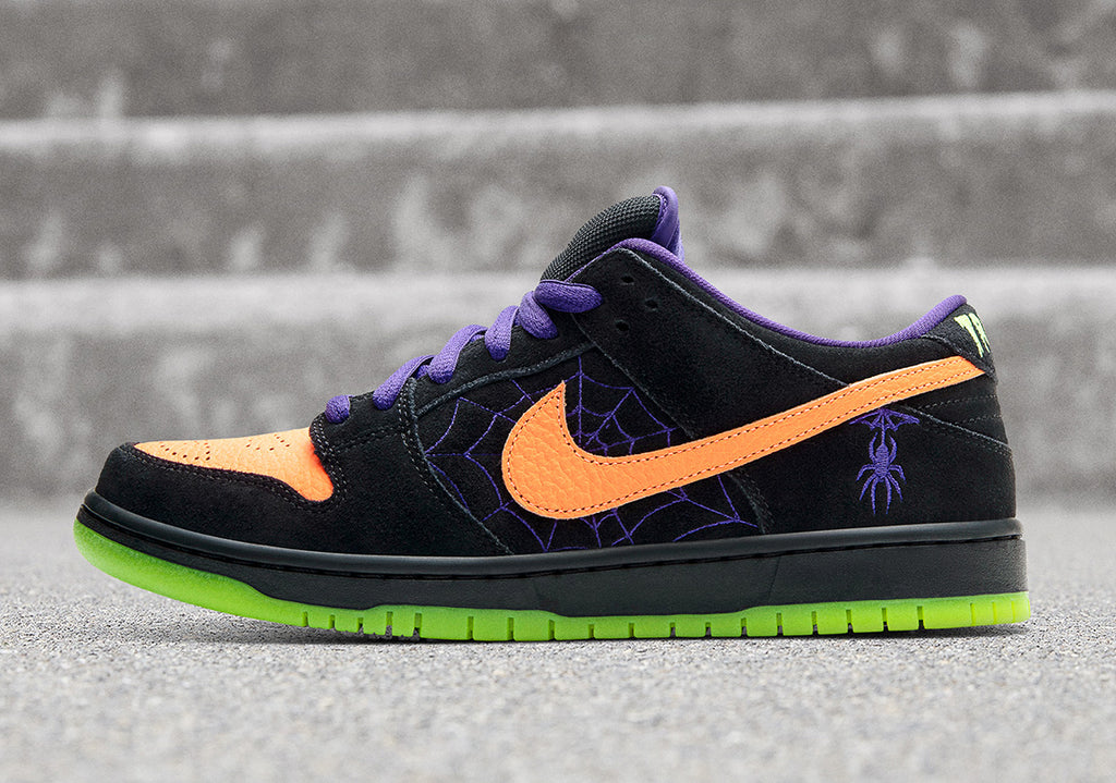 Nike Sb dunk low, halloween sneaker, night of mischief