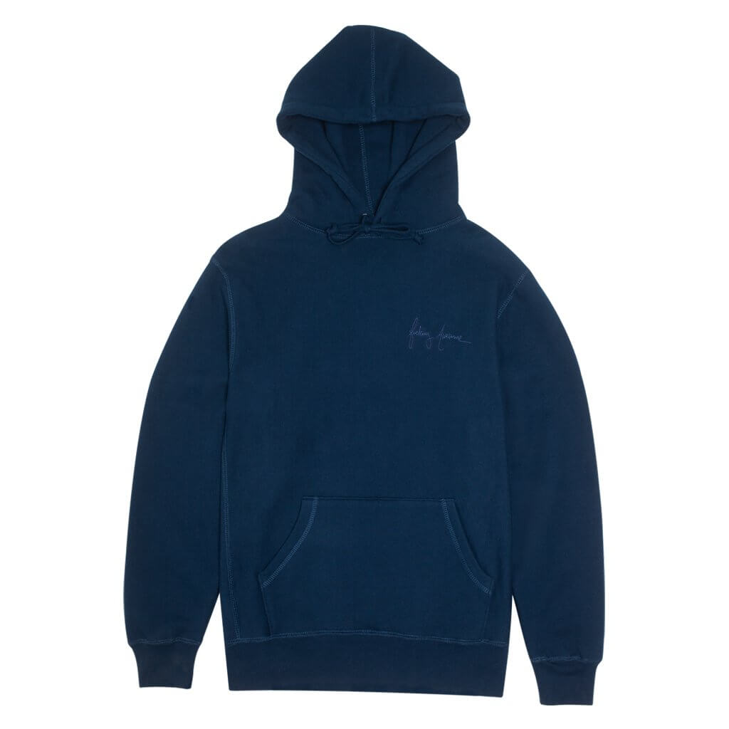 Fucking Awesome, World Kid, front design, Navy Hoodie