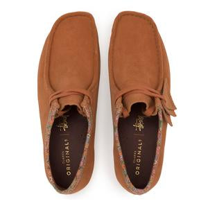 Clarks Originals Wallabee x Stussy