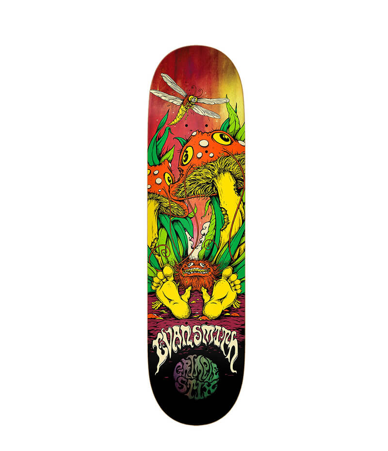 Grimple Stix, Evan Smith Shrunken, Deck