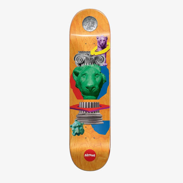 "Almost Dilo Relics R7 8.125"" Deck"