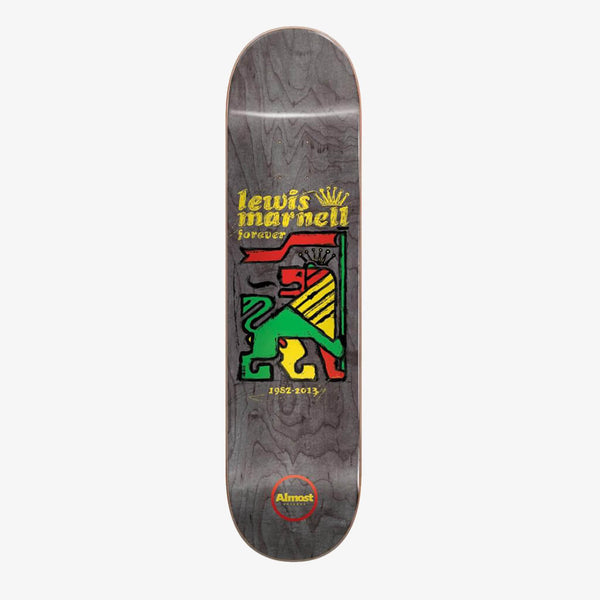 "Almost Lewis Rasta Lion R7 8.0"" Deck"