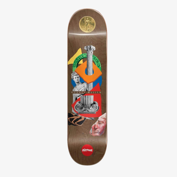 "Almost Mullen Relics R7 Brown 7.75"" Deck"