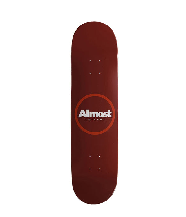 Almost Skateboards, Red Ring Resin Deck 8.25""