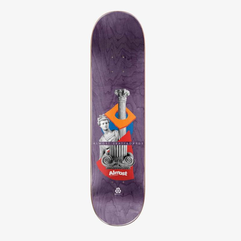"Almost Max Relics R7 Maroon 8.375"" Deck"