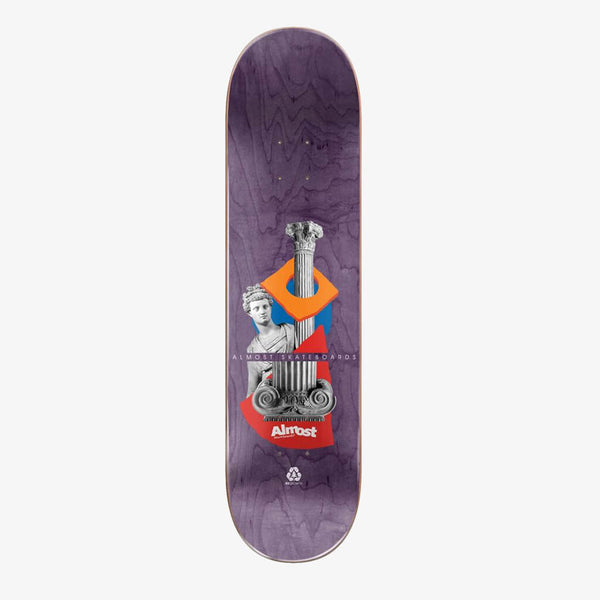 "Almost Yuri Relics R7 Yellow 8.25"" Deck"