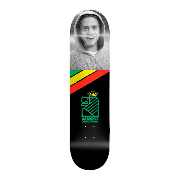 "Almost Skateboards Lewis Smile R7 8.0"" Deck"