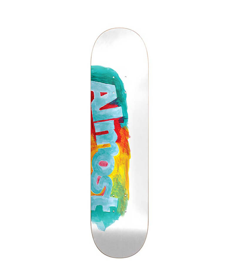 "Almost Skateboards Side Smudge HYB Cream 8.0"" Deck"
