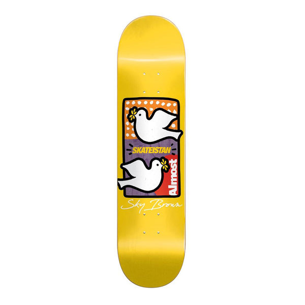 Almost, Skateistan Double Doves R7 8.0 Deck