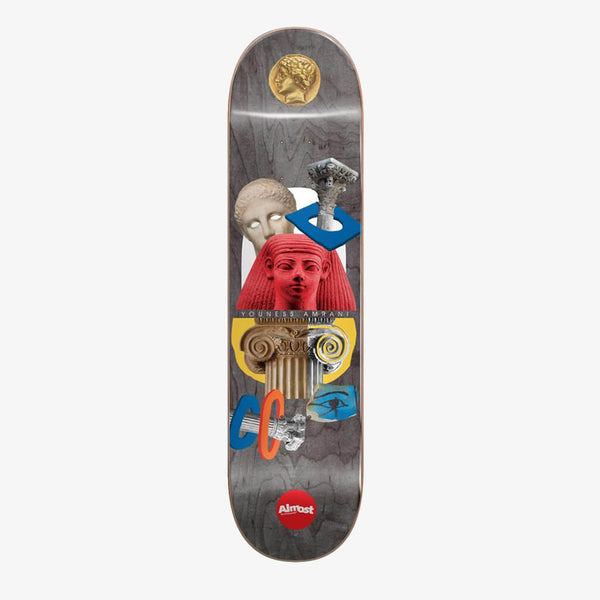 "Almost Youness Relics R7 Black 8.5"" Deck"
