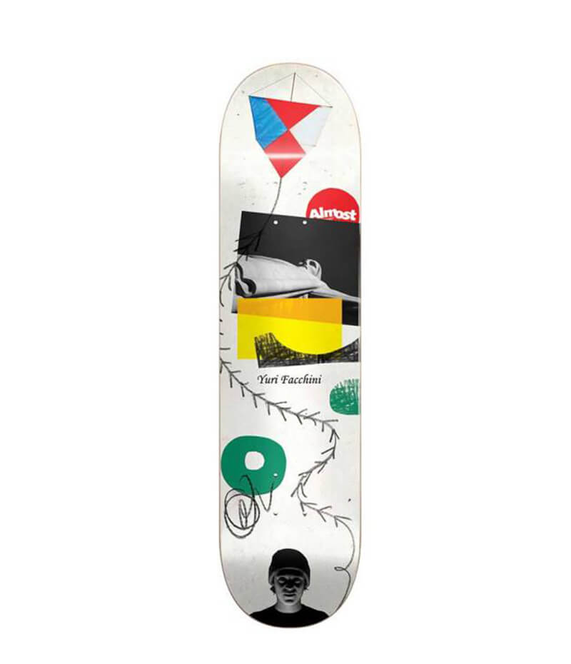 Almost Skateboards, Yuri Facchini, Scraps,  R7 Deck