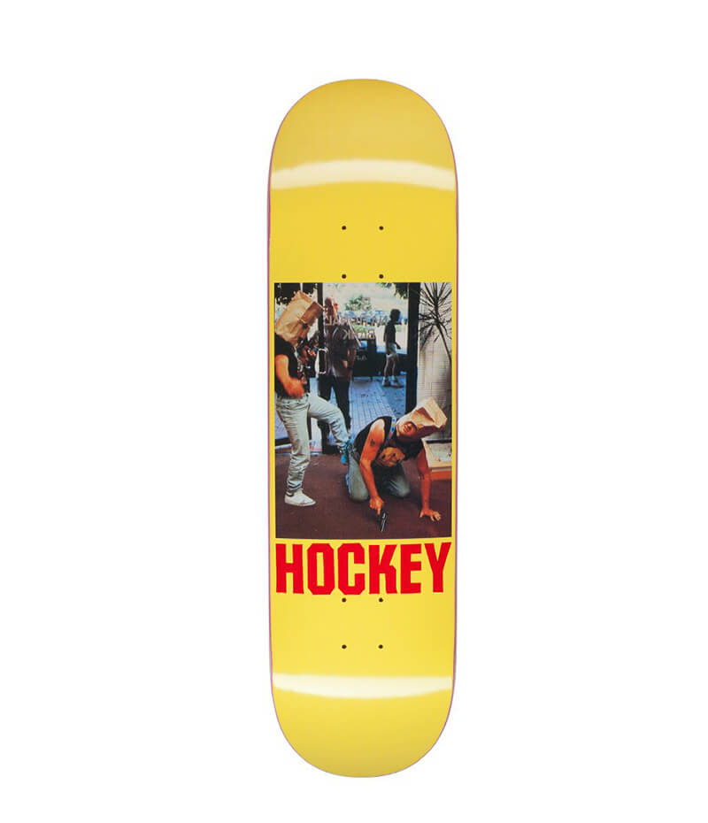 Hockey Skateboards, Baghead 2, Yellow 8.5 Deck