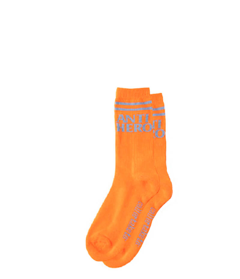 Antihero skateboards orange socks, Blackhero If Found