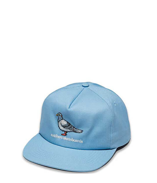 Antihero Skateboards, Lil Pigeon Snapback, Cap light Blue