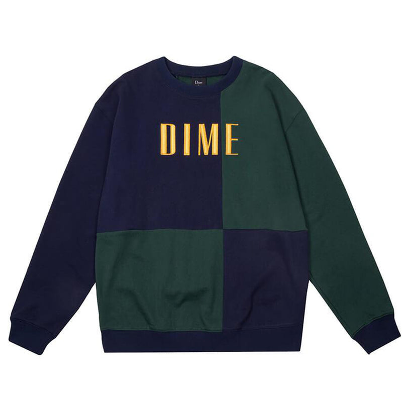 Dime Block Terry Crewneck