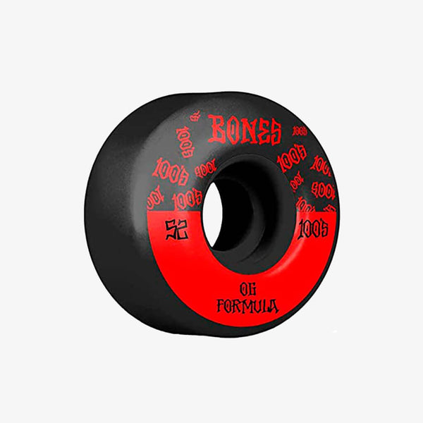 Bones Wheels OG 100's 52mm