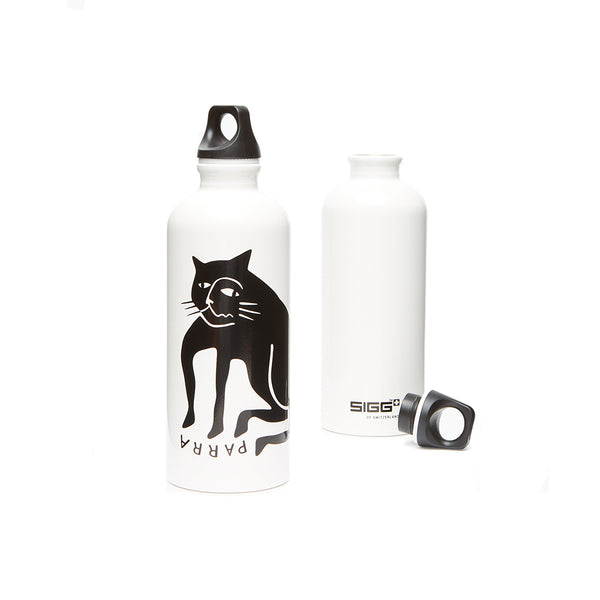 By Parra Cat Sigg Bottle front and back view
