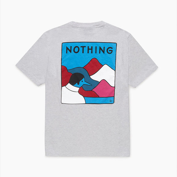 Parra Nothing Ash Grey T-Shirt