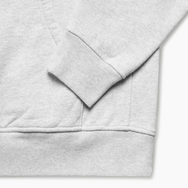 By Parra Staring Ash Grey Hooded Sweatshirt
