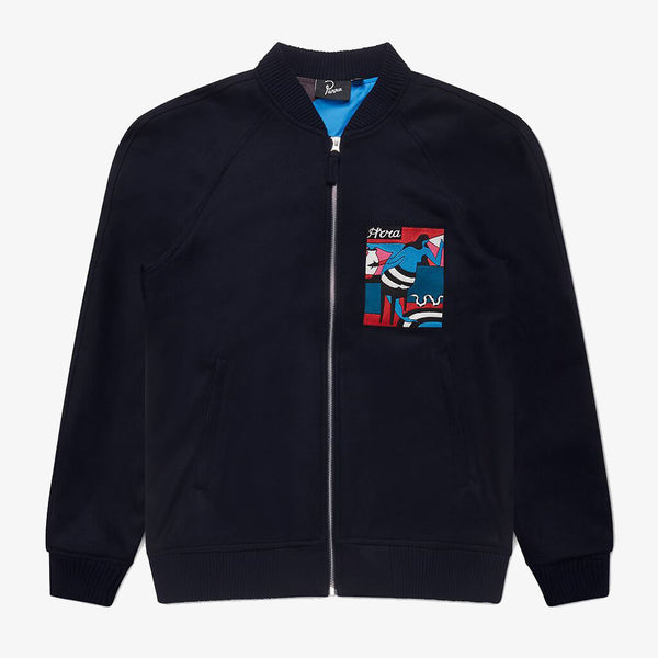 By Parra Bar Messy Wool Jacket