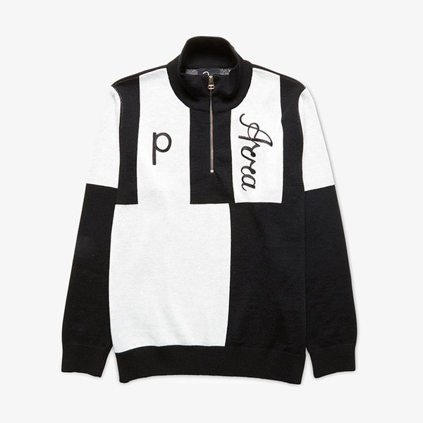 Parra Quarter Zip Knitted Pullover Sweather