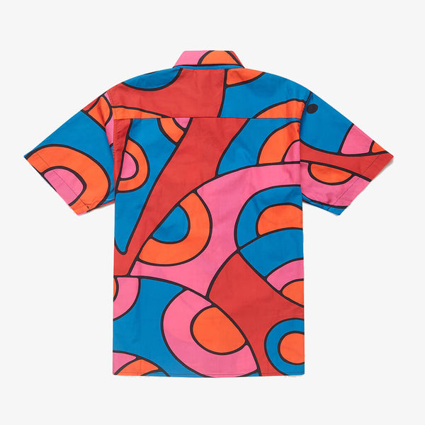 By Parra Serpent Pattern Shirt