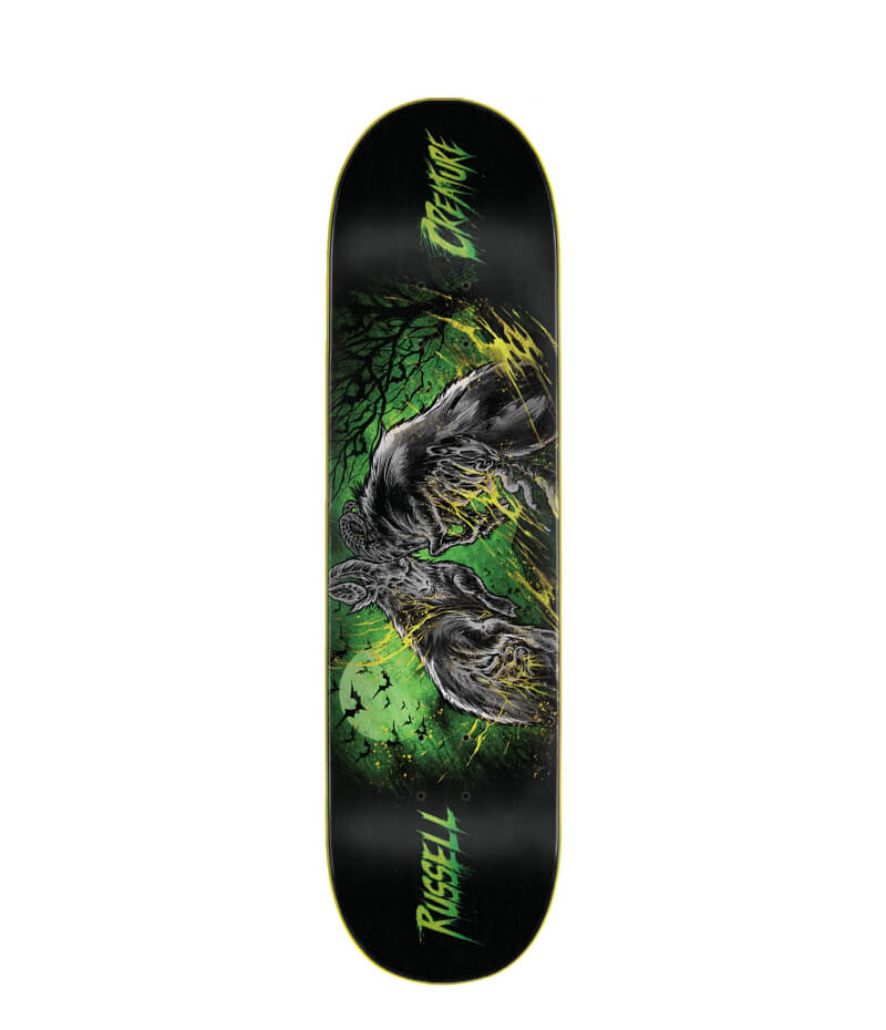 "Creature Skateboards, Russell Battering Ram VX 8.6"" Deck"