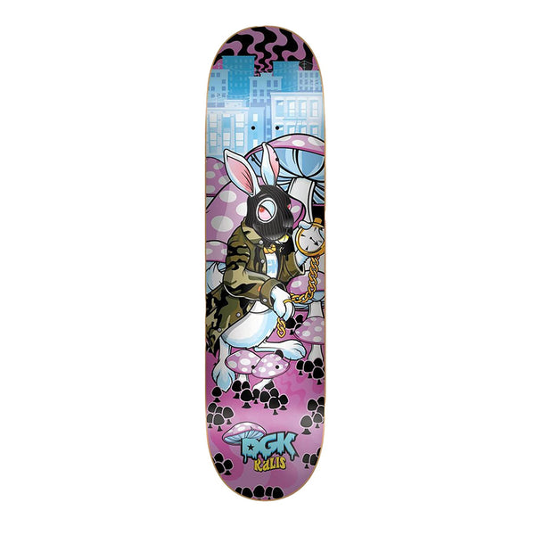 DGK Skateboards, Kalis Ghetto Land 8.06 Skateboard Deck