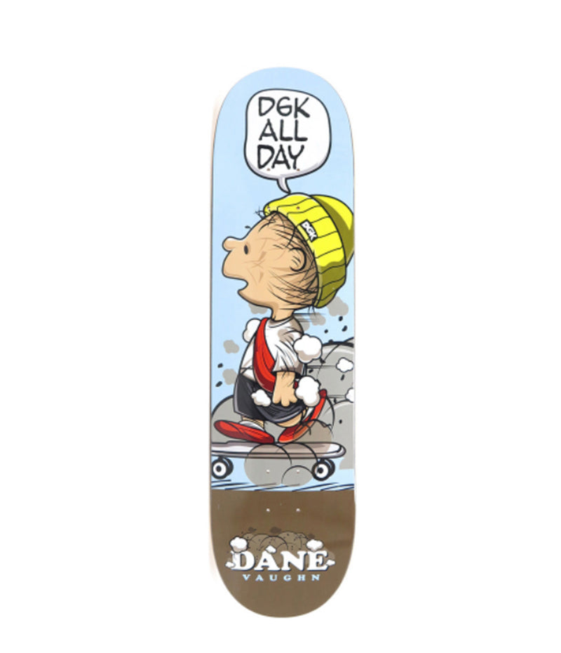 "DGK Skateboards Saturday Morning Vaughn 8.06"" Deck"