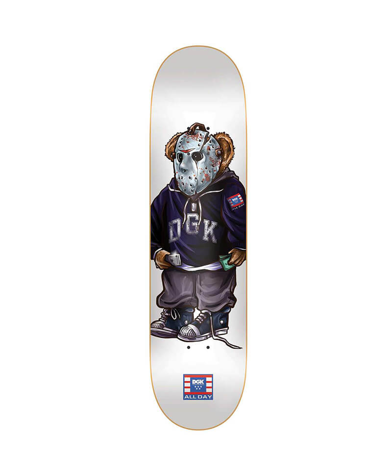 "DGK Skateboards, The Plug 8.1"" Deck"