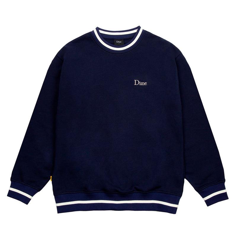 Dime MTL Classic French Terry Crewneck Navy