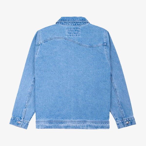 Dime MTL Denim Chore Jacket Light Blue Wash