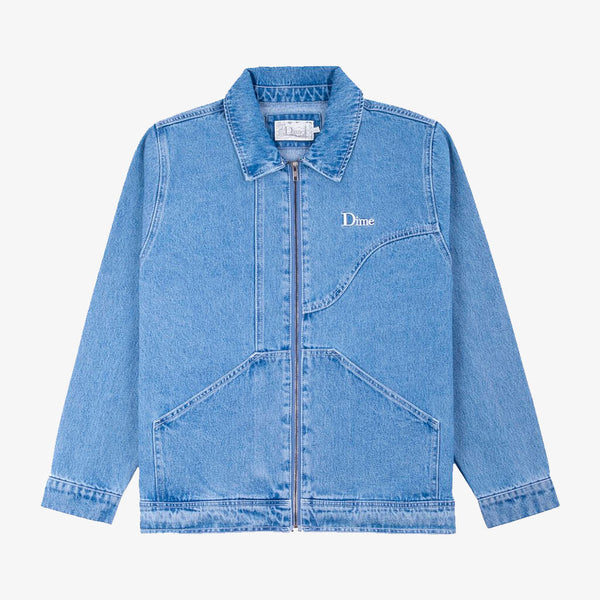 Dime Denim Chore Jacket Light Blue Wash