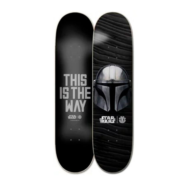 Element Skateboards X Star Wars Mandalorian Beskar Skateboard Deck - 8.25