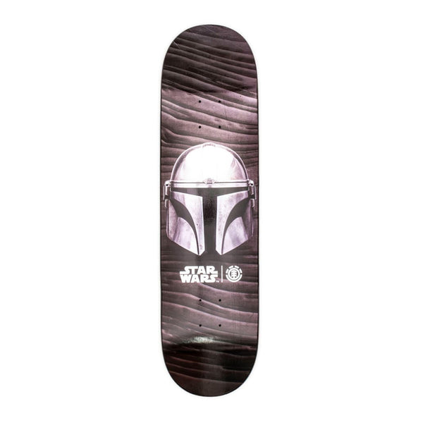 Element Skateboards, Star Wars, Mandalorian Beskar Skateboard Deck
