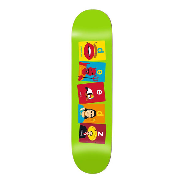 Enjoi, Deedz, Flashcards, R7 8.125 Skateboard Deck