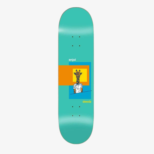 "Enjoi Deedz Skart R7 8.125"" Deck"