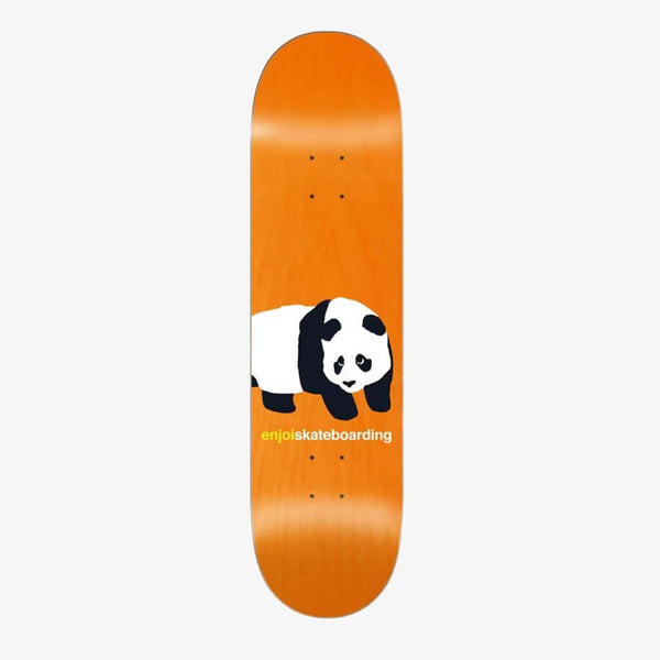 "Enjoi Peekaboo Panda R7 Orange 8.5"" Deck"
