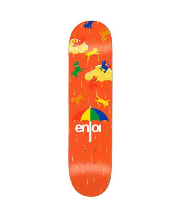 Enjoi Raining Cats & Dogs Black 8""