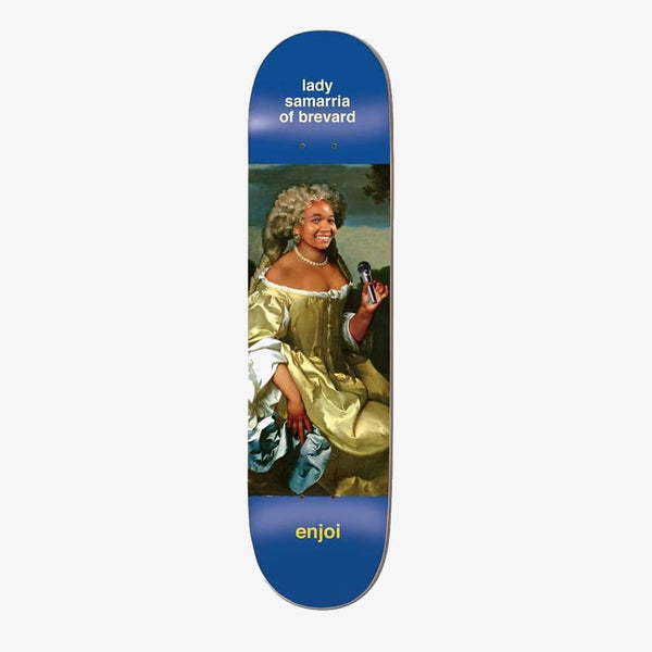 "Enjoi Samarria Renaissance Impact Light 8.0"" Deck"