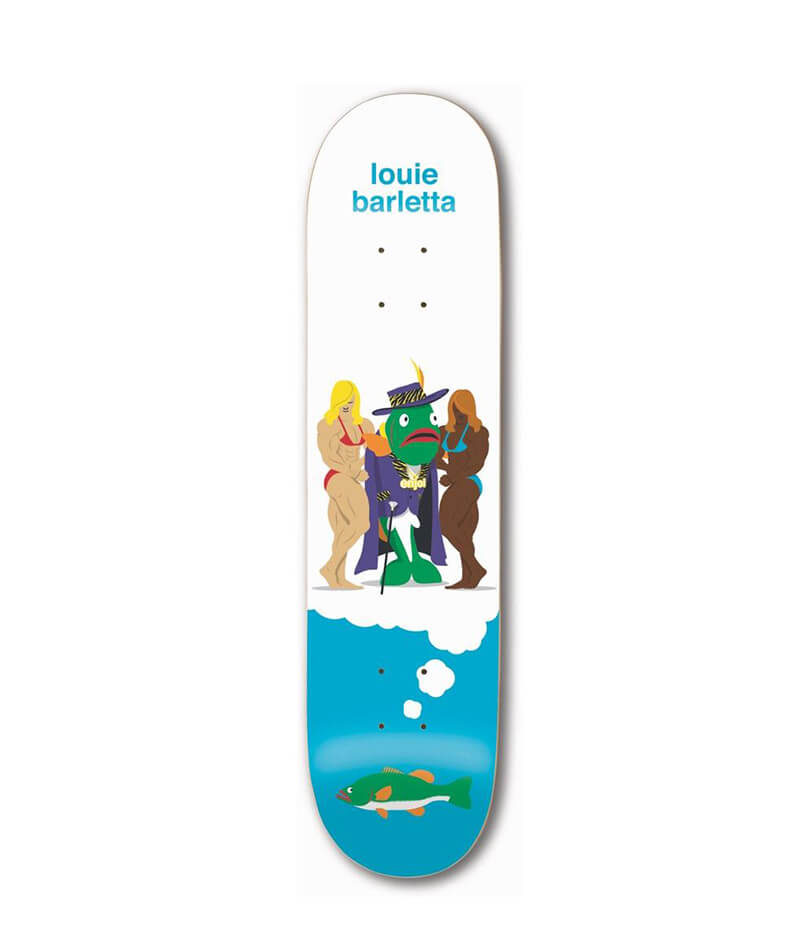 "Enjoi Skateboards Big Dreams Impact Light Barletta 8.0"" Deck"
