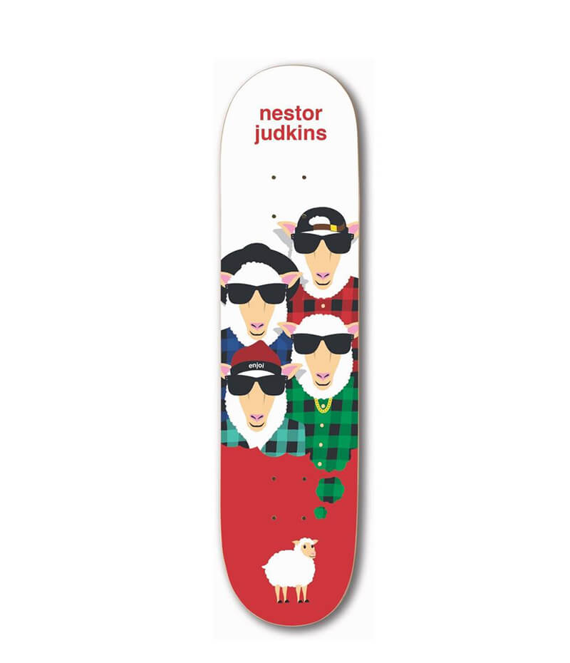 "Enjoi Skateboards Big Dreams Impact Light Judkins 8.25"" Deck"