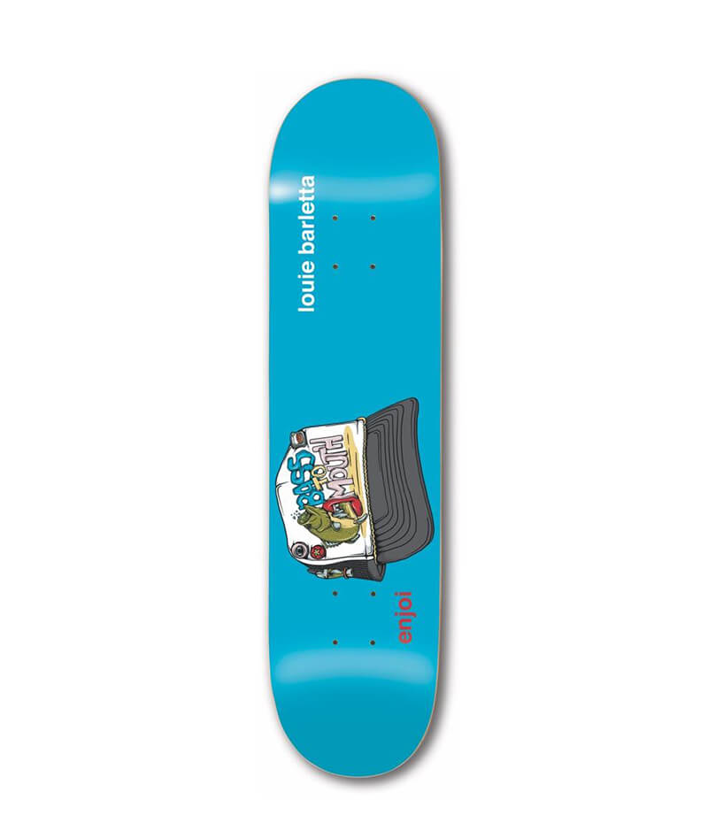 "Enjoi Skateboards Snap Back R7 Barletta 8.25"" Deck"